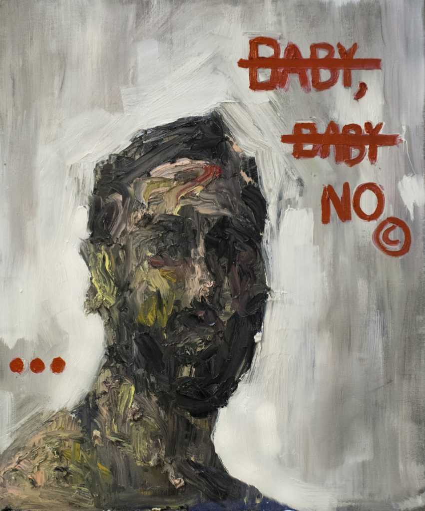 Baby, Baby No / Oil on Canvas / 50 x 60 cm / 2015