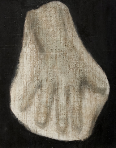 Cast Study #6 / Oil on Board / 20.5 x 24.5 cm / 2017
