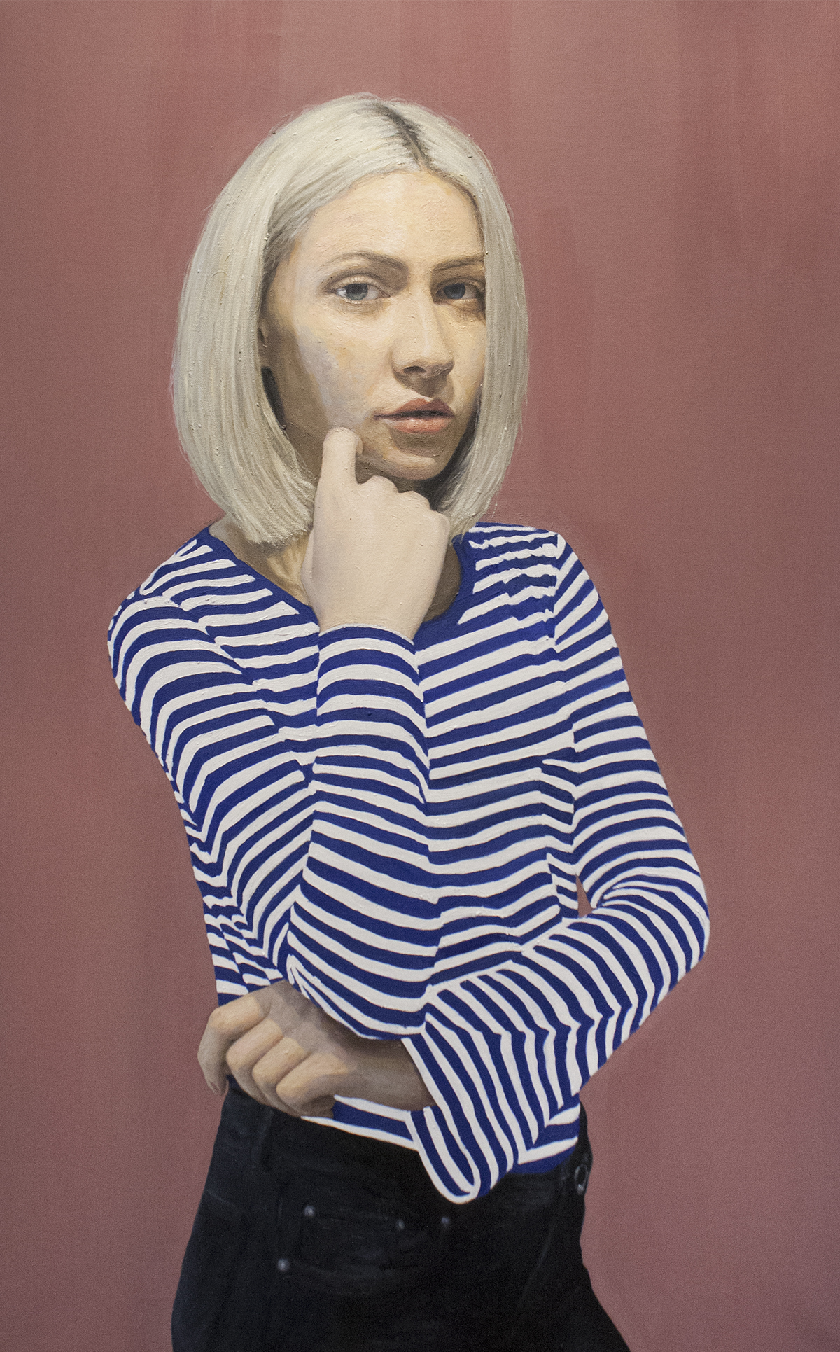 Charlie / Oil on Canvas / 73 x 116 cm / 2018