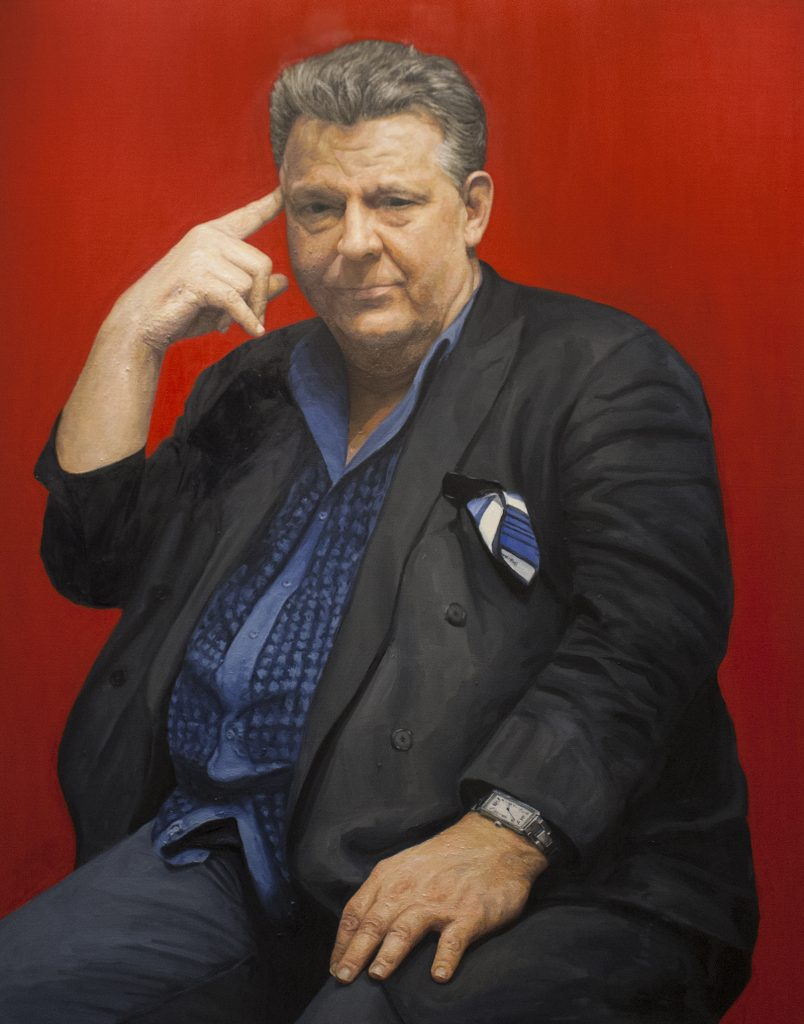 Dad / Oil on Canvas / 113.5 x 146 cm / 2017