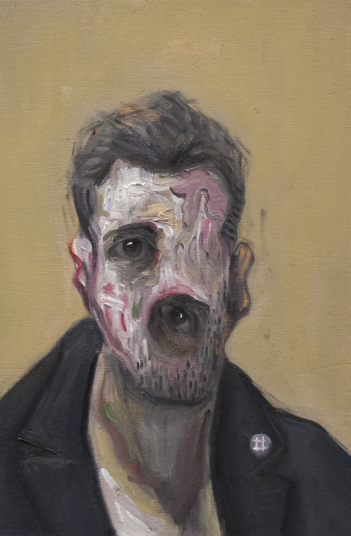 Fame / Oil on Wood / 19.5 x 30 cm / 2018
