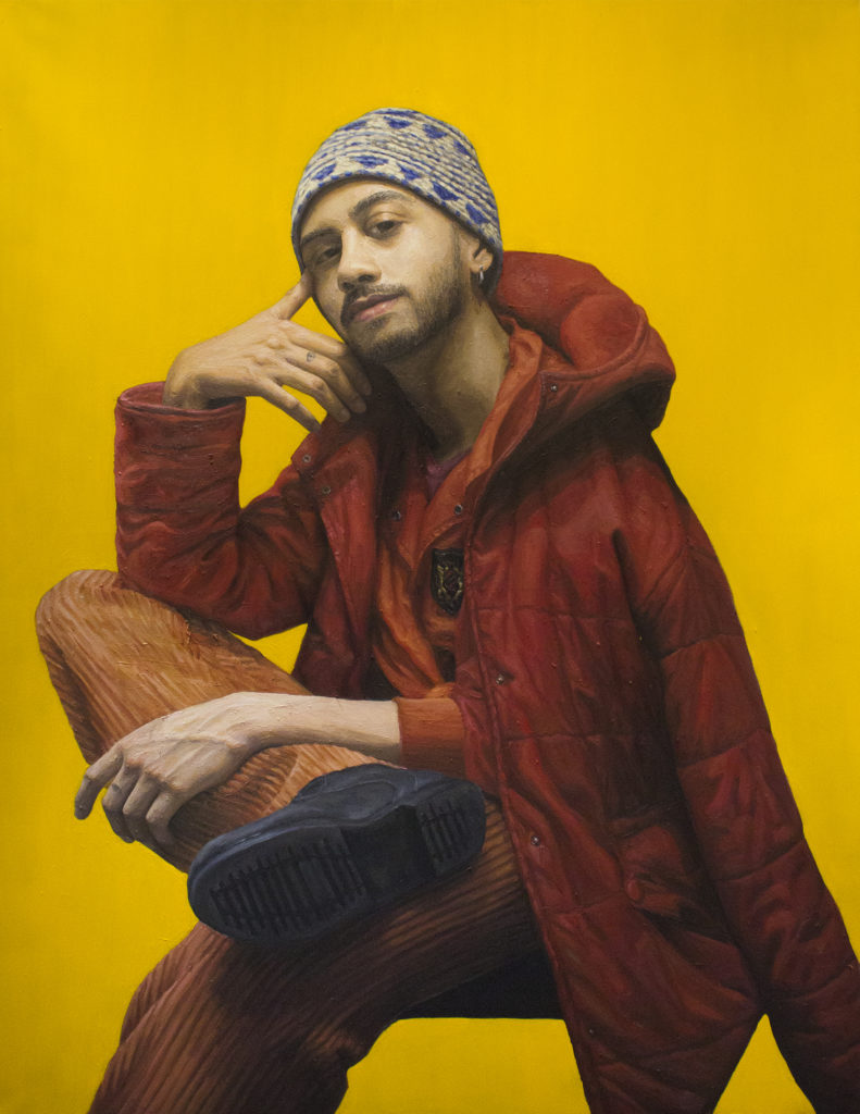 Max / Oil on Canvas / 89 x 116 cm / 2019