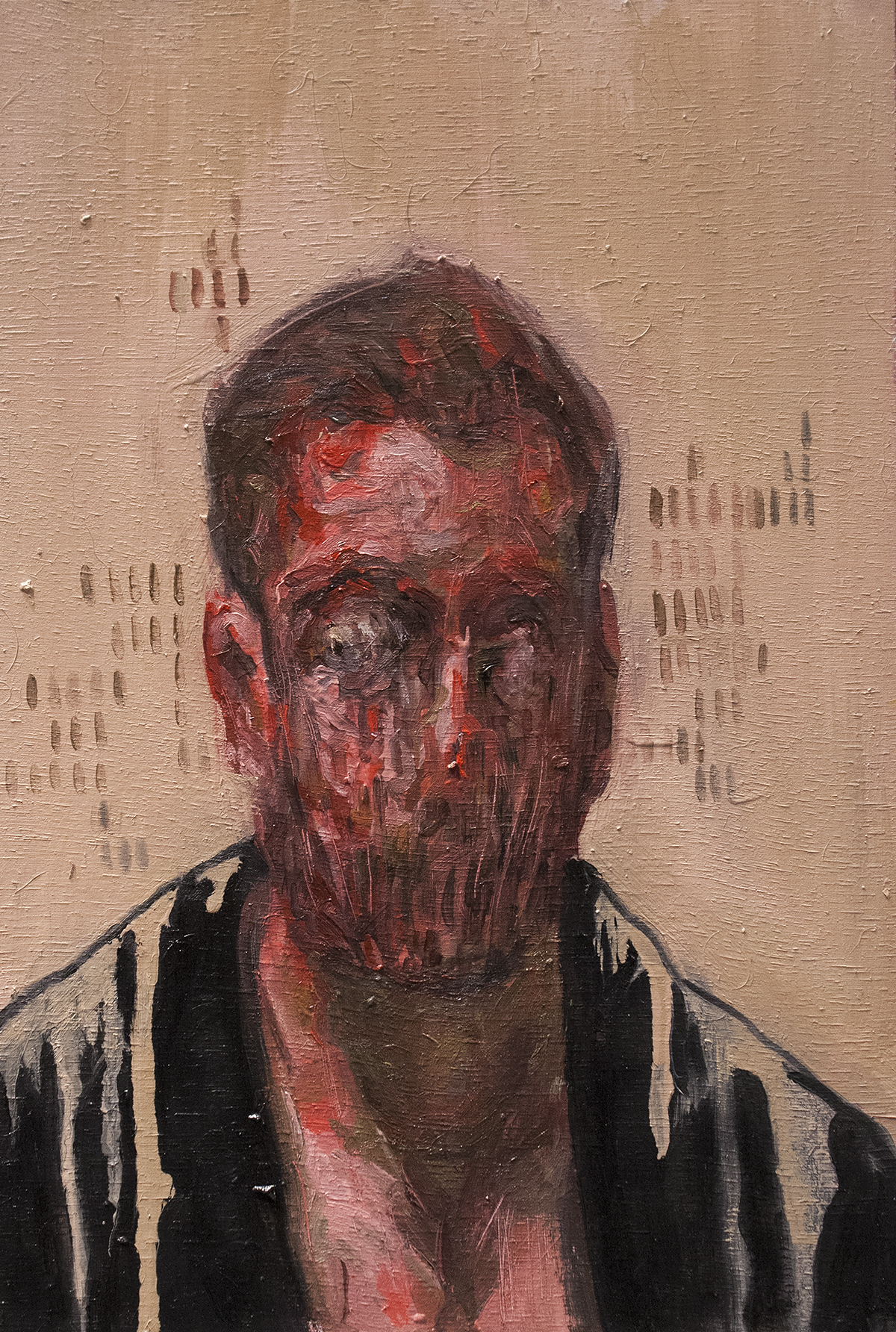 Misericordia / Oil on Wood / 19.5 x 29.5 cm / 2018