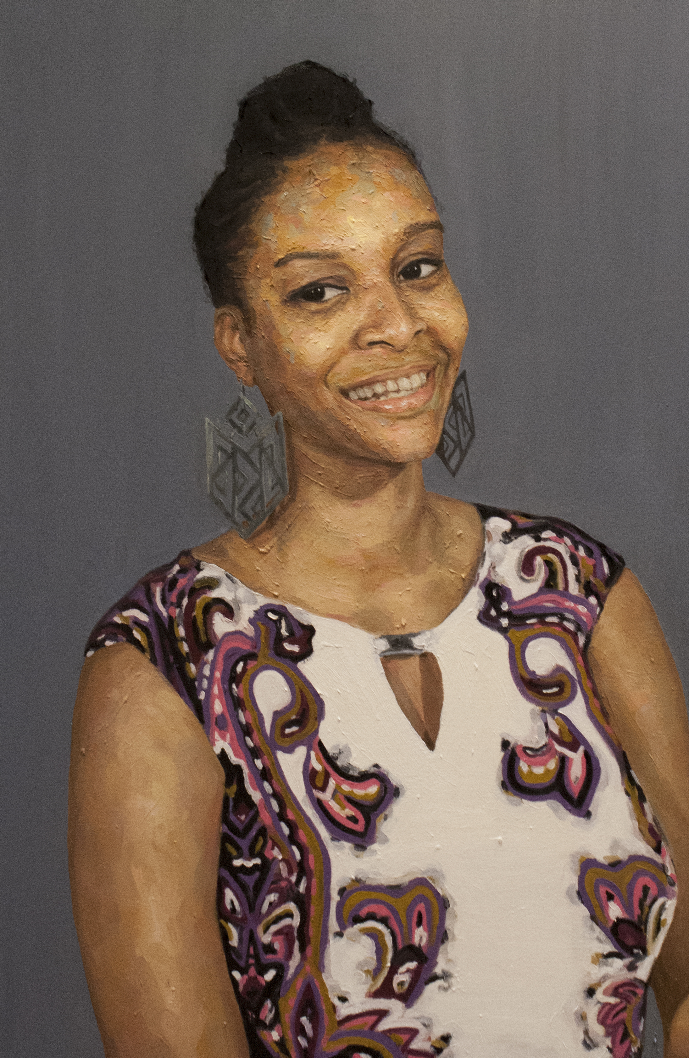 Sandra Bland / Oil on Canvas / 65 x 100 cm / 2017
