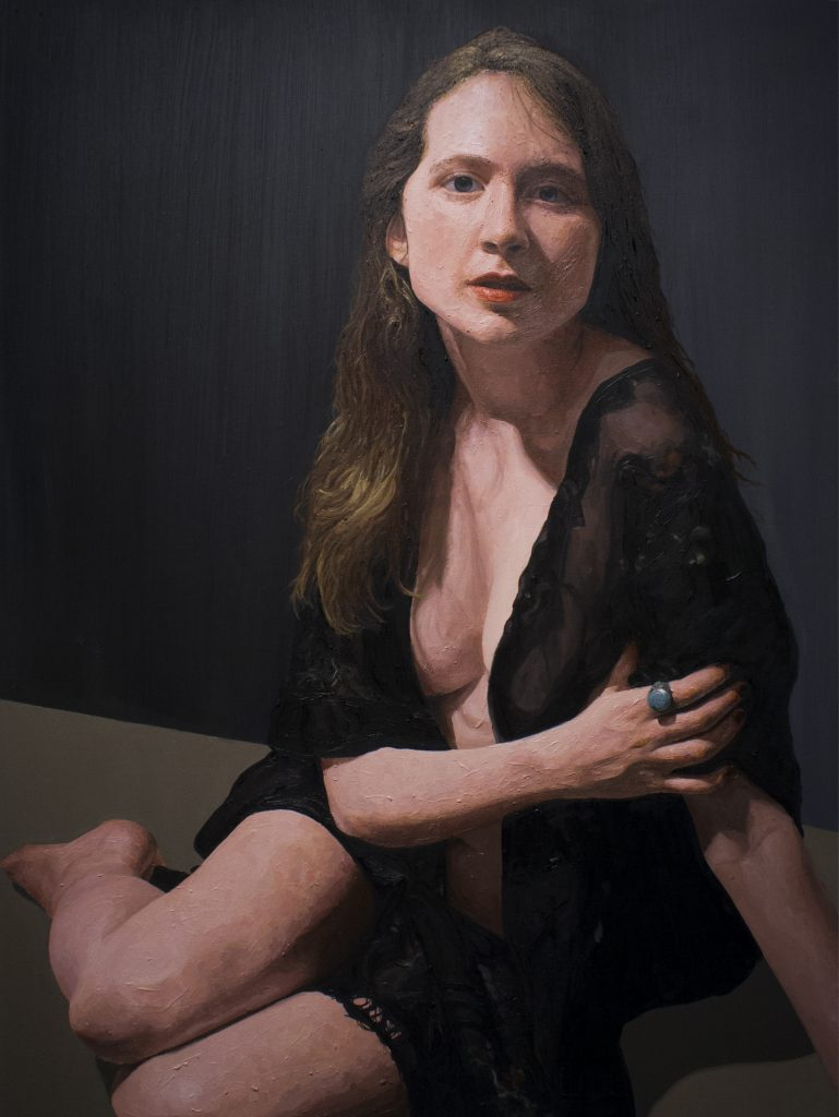 Victoria / Oil on Canvas / 92 x 122 cm / 2013