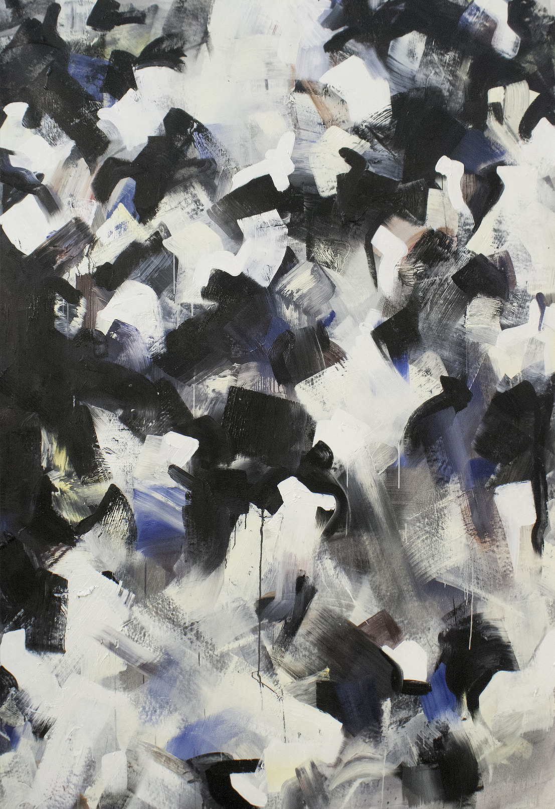 Brut #4 Oil on Canvas • 145 x 255 cm • 2014