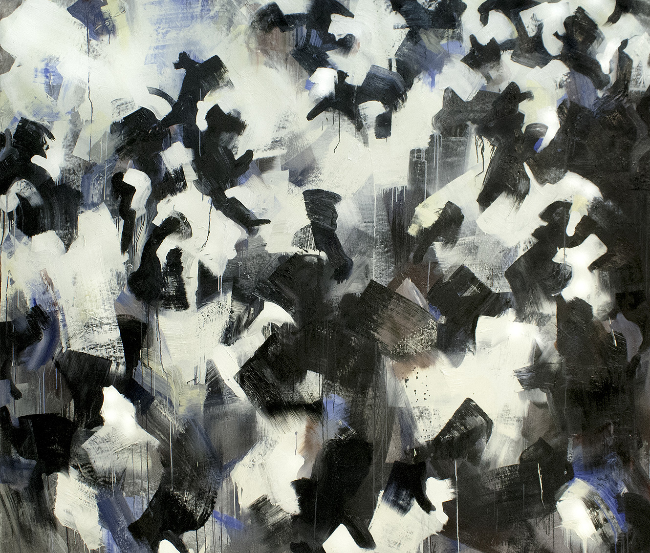 Brut #5 Oil on Canvas • 205 x 255 cm • 2014