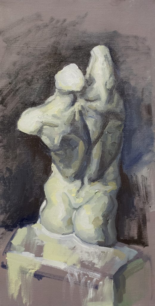 Cast Study #2 • Oil on Canvas • 30 x 60 cm • 2015