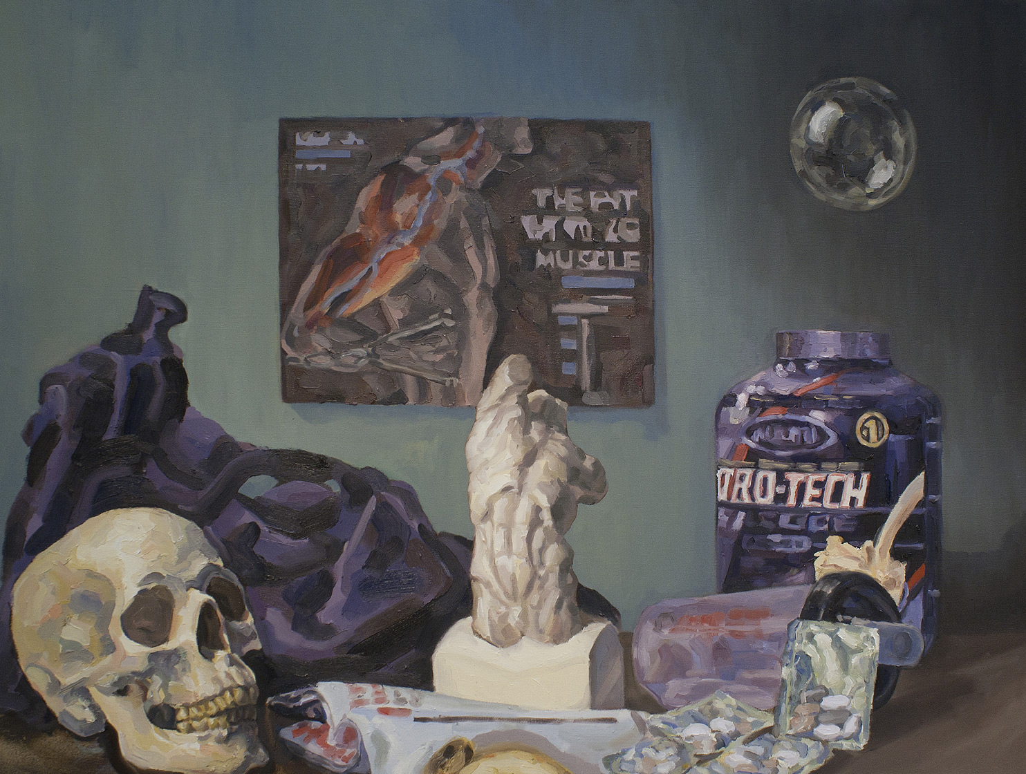 Vanitas • Oil on Canvas • 92 x 122 cm • 2011