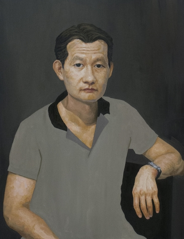 Daniel • Oil on Canvas • 90 x 120 cm • 2014