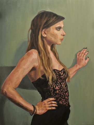 Kim • Oil on Canvas • 76 x 102 cm • 2012