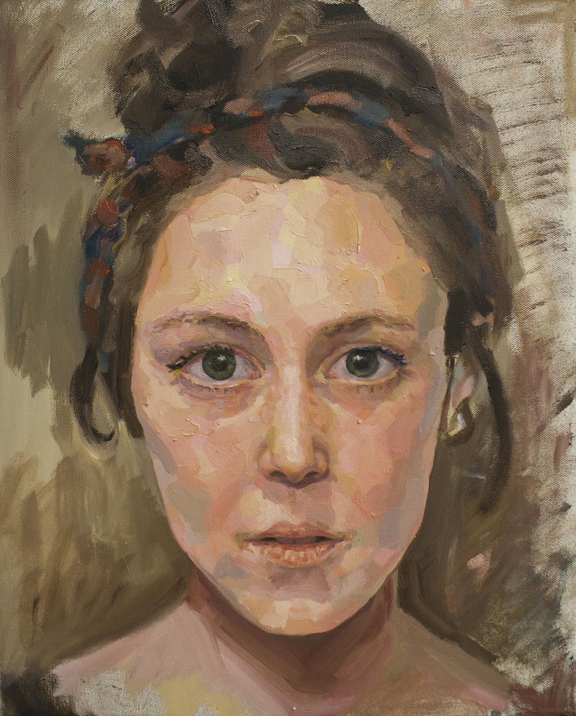 Martine (study) • Oil on Canvas • 41 x 51 cm • 2012