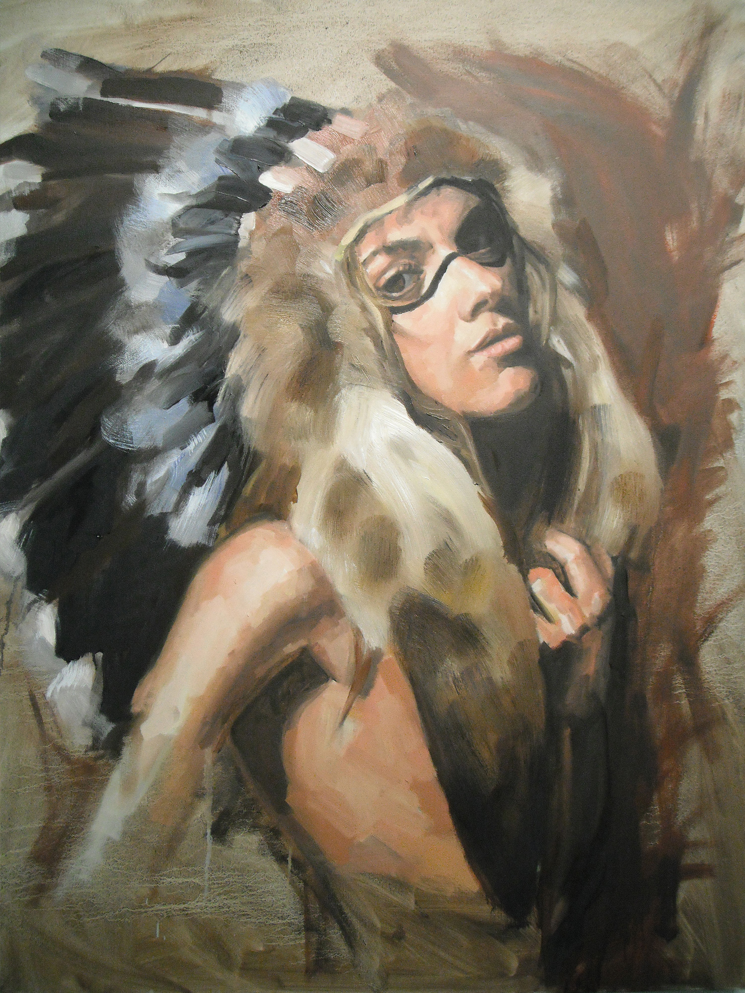 Sabrina • Oil on Canvas • 76 x 102 • 2010