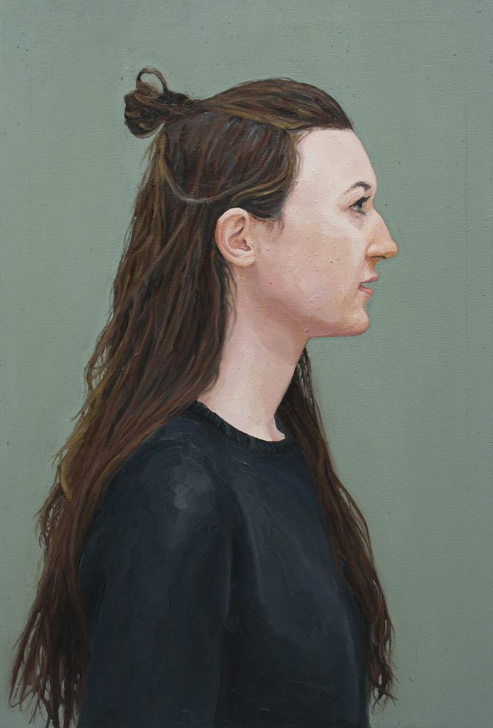 Simone • Oil on Canvas • 61 x 91 cm • 2013