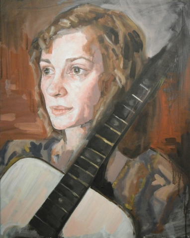 Sophie • Oil on Canvas • 61 x 76 cm • 2010