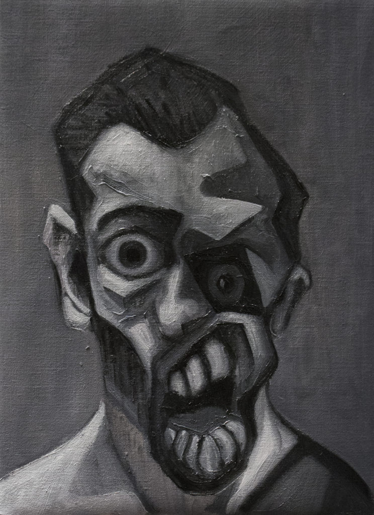 Guernica / Oil on Canvas / 26.5 x 36.5 cm / 2018