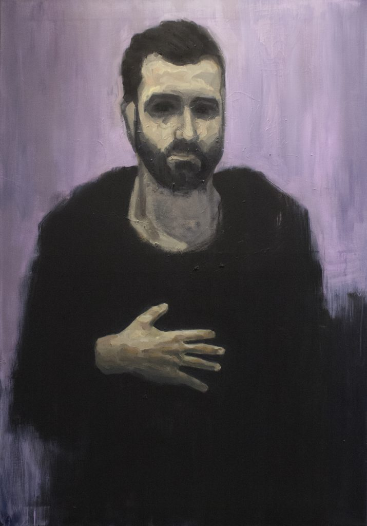 Pactum / Oil on Canvas / 90 x 130 cm / 2017