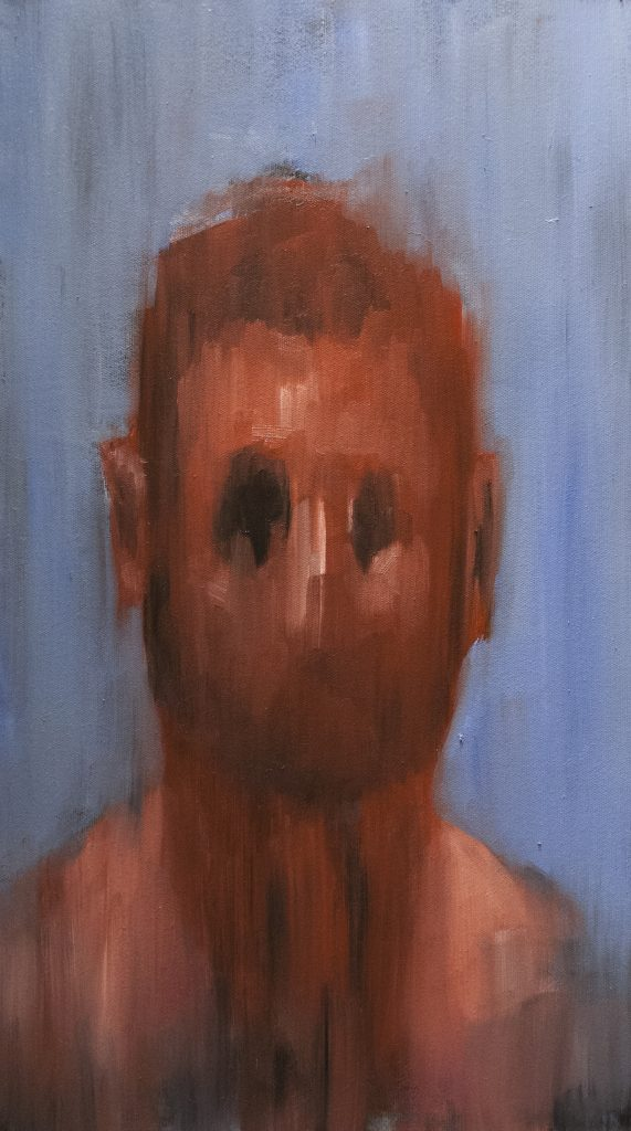 Toy / Oil on Canvas / 36.5 x 66.5 cm / 2017