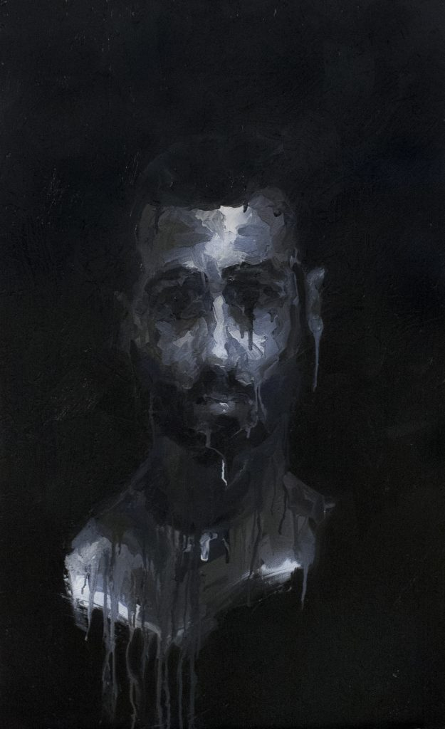 Sunk / Oil on Wood / 60 x 92 cm / 2015